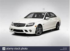 2010 Mercedes C Class C63 Amg In White Front Angle
