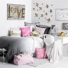 chambre d ado fille moderne girly college decorating room college