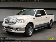 how to learn about cars 2007 lincoln mark lt instrument cluster white chocolate tri coat 2007 lincoln mark lt supercrew 4x4 dove grey black interior