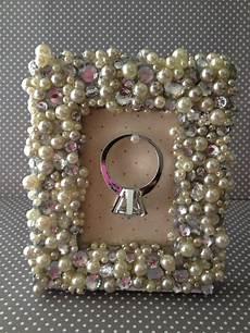 bilderrahmen selber basteln the busy broad diy picture frame ring holder