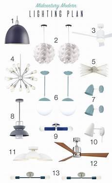 whole house lighting plan lighting mid century modern lighting