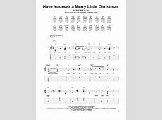 have yourself merry little christmas guitar chords