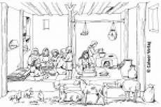 Ausmalbilder Umwelt Jesu Wohnen In Pal 228 Stina 0 169 Calwer Verlag