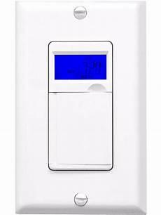 enerlites 7 day digital programmable timer outlet wall light switch ebay
