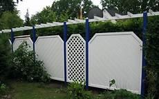 Sichtschutz Kunststoff Günstig - wei 223 blaue pergola aus kunststoff