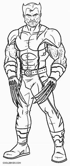 printable wolverine coloring pages for