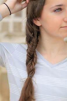 diy double fishtail twist braided hairstyles cute