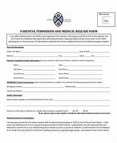 free 10 sle parental release forms in ms word pdf