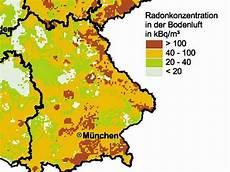 radonbelastung bayern karte radon gefahr aus dem keller rosenheim