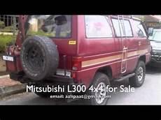 Mitsubishi L300 4x4 Road Malaysia For Sale