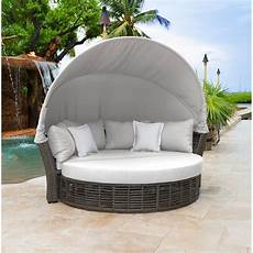 panama patio daybed with cushions reviews wayfair