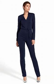 Combinaison Pantalon Zipp 233 E Bleu Marine Nik09bm