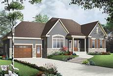 bungalow house plans with attached garage cozy bungalow with attached garage 21947dr