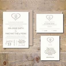 printable wedding invitations diy wedding invitation