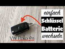 vw polo 9n schl 252 ssel batterie wechseln so einfach gehts