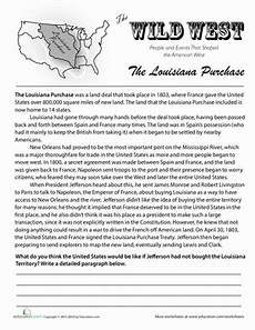 history of the louisiana purchase 7th grade social