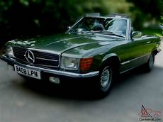 how does cars work 1985 mercedes benz sl class engine control 1985 mercedes 500 sl auto green unique exle full history