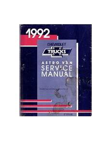 free service manuals online 1998 chevrolet astro on board diagnostic system 1992 chevrolet astro van service manual