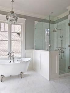clawfoot tub bathroom ideas 43 amazing bathrooms with half walls interior god