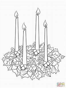 advent wreath coloring sheet advent wreath wreath printable
