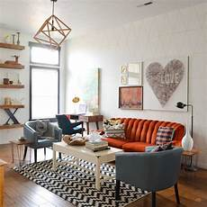 Vintage Decorating Ideas For Living Rooms Retro Room Decor