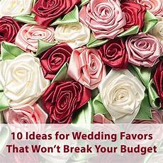 creating wedding favors on a budget to help you save for the honeymoon