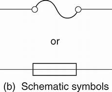 fuse schematic symbol wiring diagram