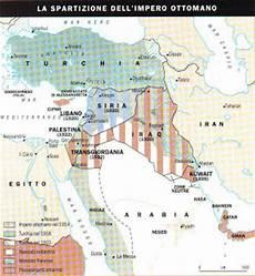 storia impero ottomano ripasso facile riassunto conflitti israelo palestinesi