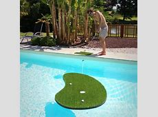 Get A Hole In One In Your Swimming Pool, Floating Green