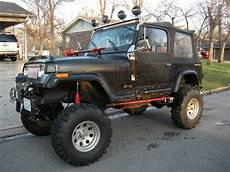 buy used 1987 jeep wrangler yj black v8 motor lift in