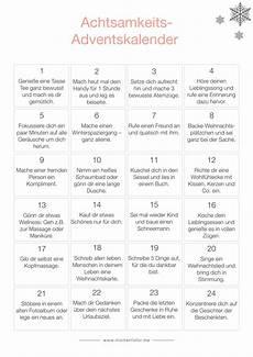 adventskalender sprüche zum ausdrucken der besondere adventskalender 24 mal achtsamkeit bitte