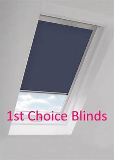 navy blue m04 blackout roof roller blind for velux