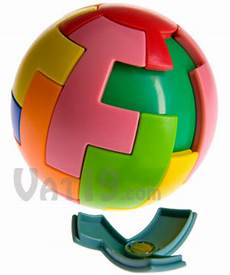 magic 16 magnetic puzzle ball form a sphere with the magnetic pieces
