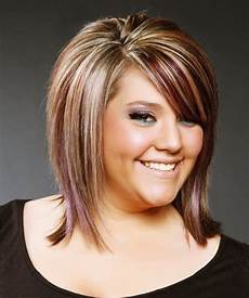40 short hairstyles for fat faces with double chin comb