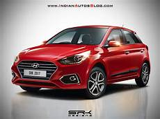 2018 Hyundai I20 Facelift Rendered With New Colours
