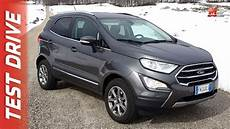 ford ecosport 2018 test new ford ecosport 2018 snow test drive