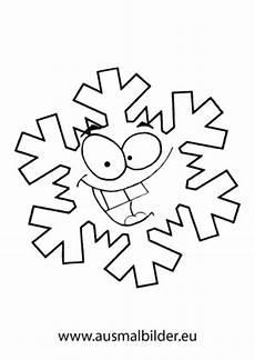 Schneeflocken Malvorlagen Zum Ausdrucken Ausmalbilder Lachende Schneeflocke Schneeflocken Malvorlagen