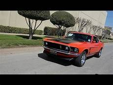 1969 boss 302 mustang classic american muscle car youtube