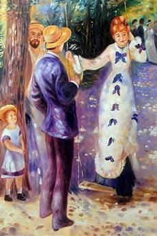 the swing renoir wall renoir the swing reproduction paintings