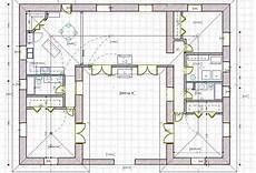 free straw bale house plans a straw bale house plan 1479 sq ft courtyard house