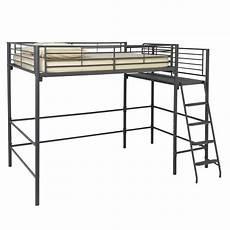 lit mezzanine avec plate forme 140x200 cm alexi new les