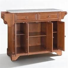 crosley furniture kitchen island crosley furniture lafayette solid granite top kitchen