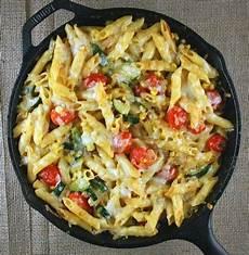 veggie pasta skillet simple dish easy