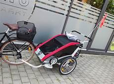 thule fahrradanhänger zubehör fahrradanh 228 nger als buggy nutzen thule chariot anh 228 nger