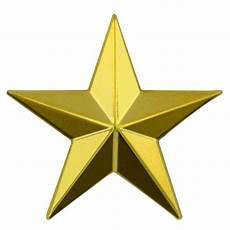 3d 5 point gold star lapel ebay
