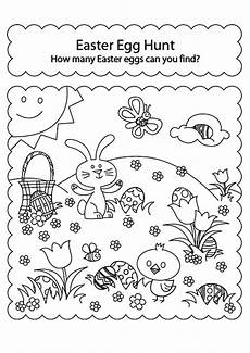 Easter Egg Hunt Coloring Sheets Free Easter Coloring Pages Happiness Is