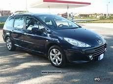 2008 Peugeot 307 Sw 1 6 Hdi 110 Cv Tetto Panoramico Car