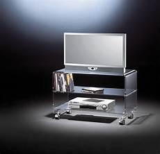 tv wagen tv wagen york acrylglas phonowagen aus acryl mit rollen 80