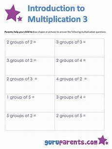 introduction to multiplication worksheets grade 3 4787 introduction to multiplication guruparents
