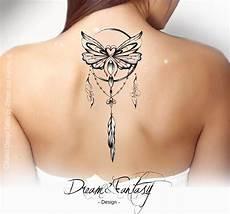 design papillon cancer dreamcatcher attrape